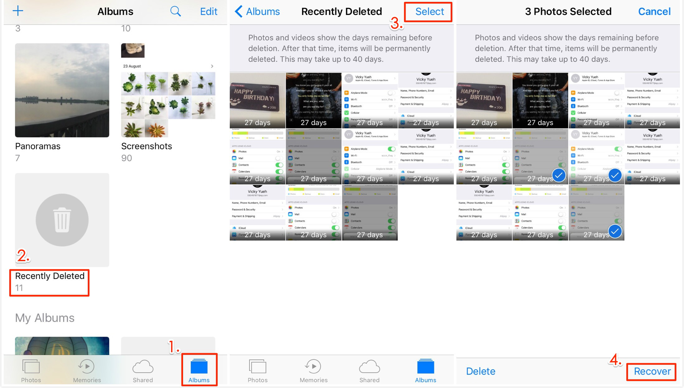 4 Ways to Recover Lost iPhone Photos after iOS 11 Update