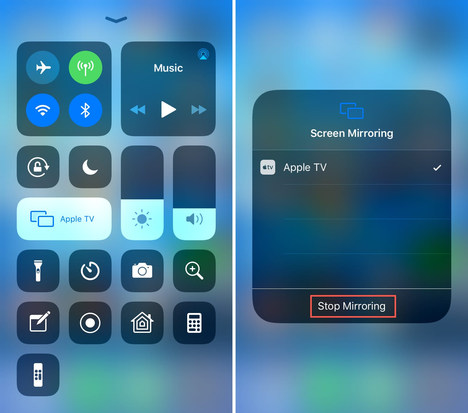 How to AirPlay or mirror your iPhone or iPad display to ...