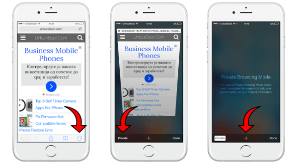 How To Disable Private Browsing On iPhone