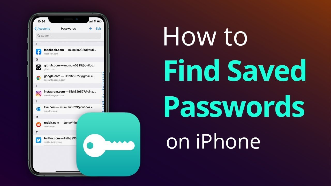 How to Find Saved Passwords iPhone [WIFI Passwords]
