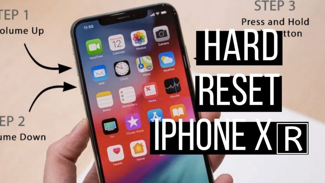 how to make a hard reset to iphone xr truegossiper