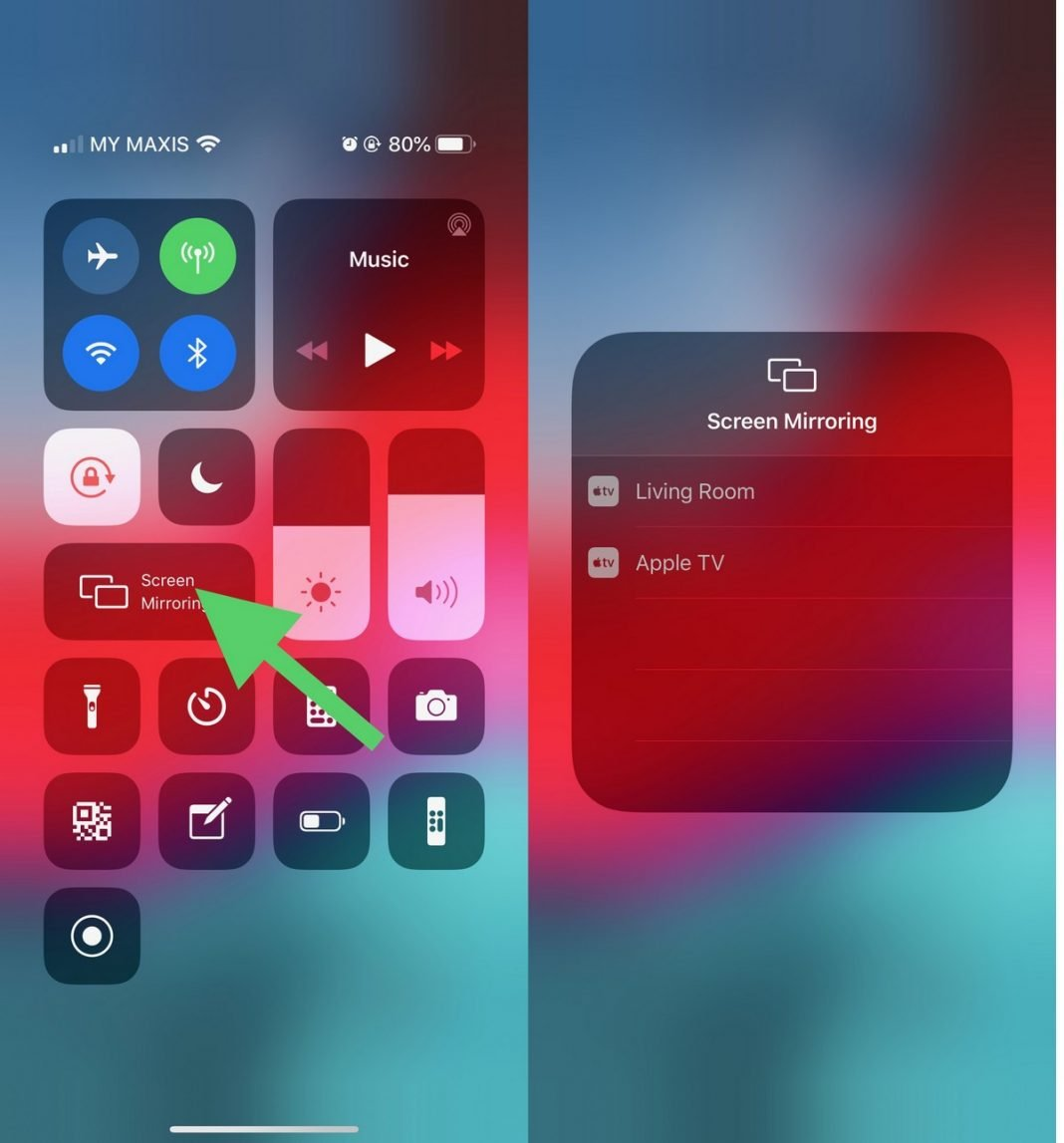 how to mirror your iphone to an apple tv ubergizmo