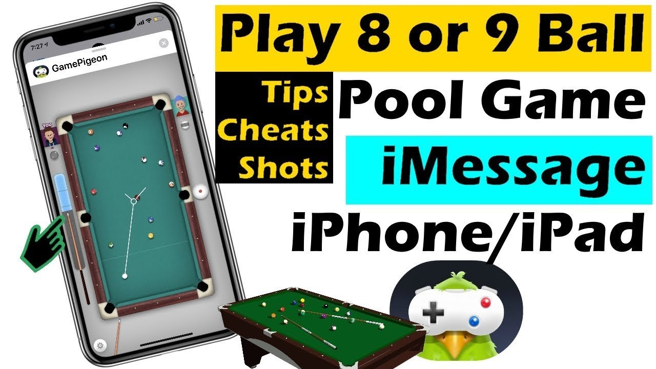How to Play 8 Ball Pool Game in iMessage iPhone 12, Cheats ...
