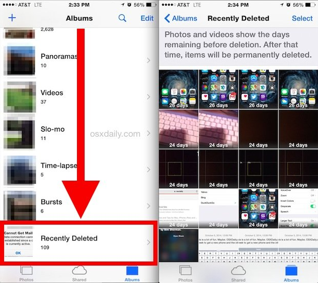 how to recover deleted files from iphone and android phones