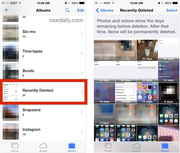 How to Recover Deleted Photos & Video from iPhone & iPad ...