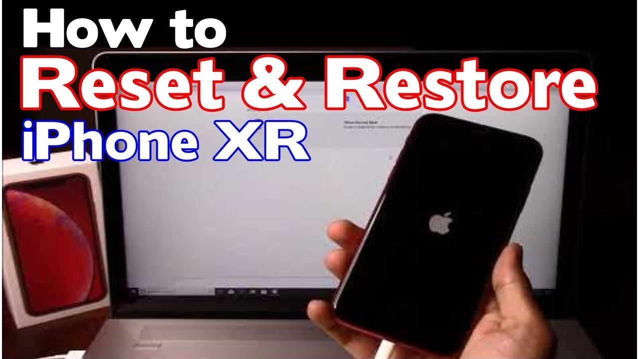 How to Reset & Restore Apple iPhone XR  Factory Reset ...
