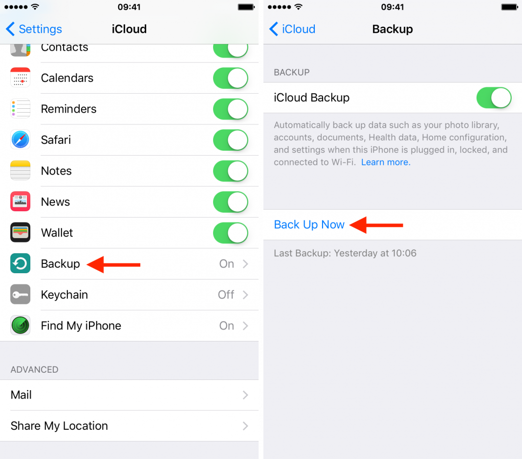 how to setup a new iphone from an icloud backup