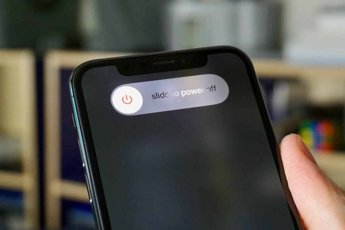How to turn off and restart your iPhone X