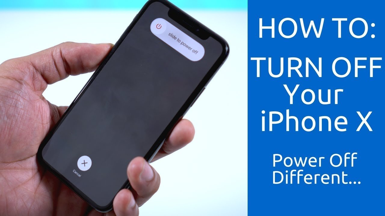 How To Turn Off Your iPhone X: Power Off Different ...