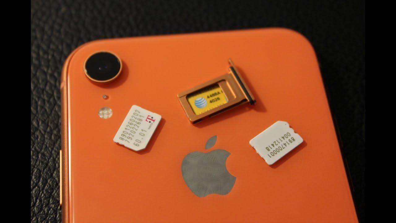 iPhone Xr Sim Card Removal