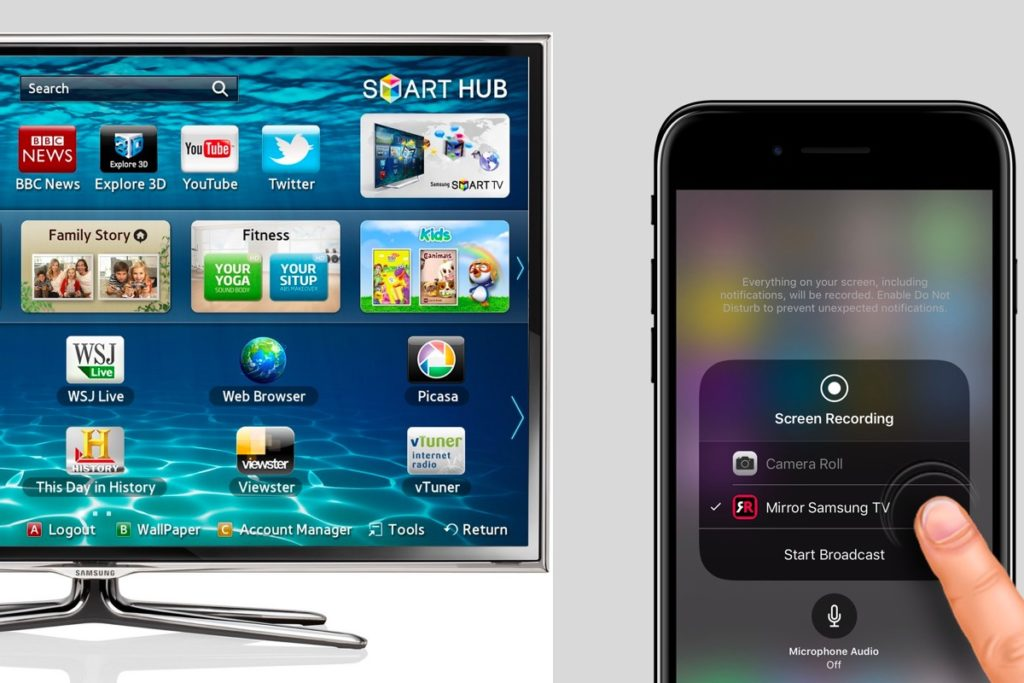 Now you can Stream iPhone Video to Samsung Smart TVs ...