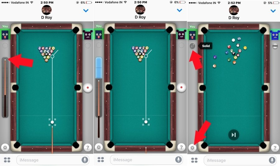 Play iMessage 9/ 8 Ball Pool iPhone Game Rules, Cheats ...