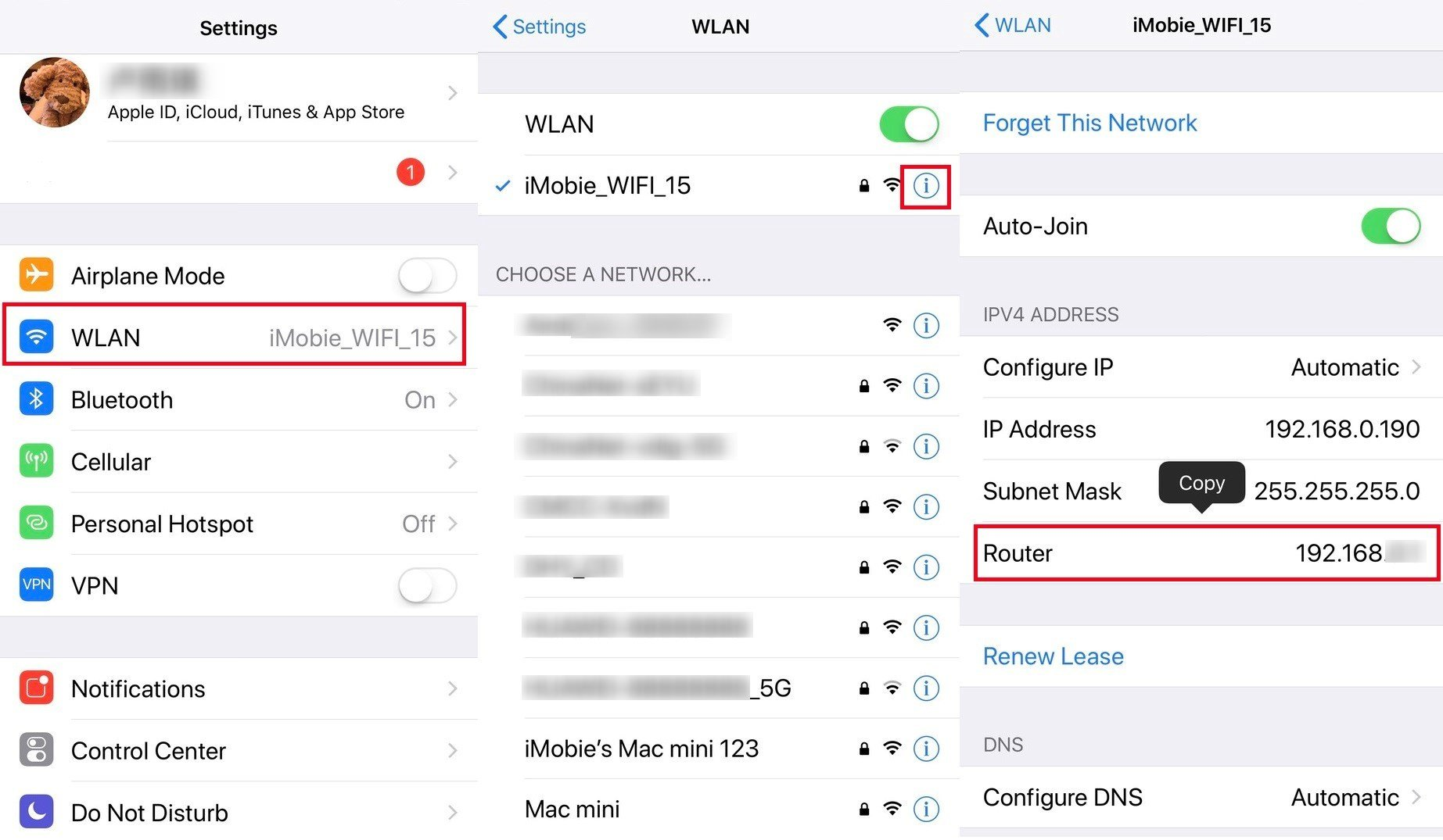 Tips to Find WiFi Password on iPhone  iMobie Inc.