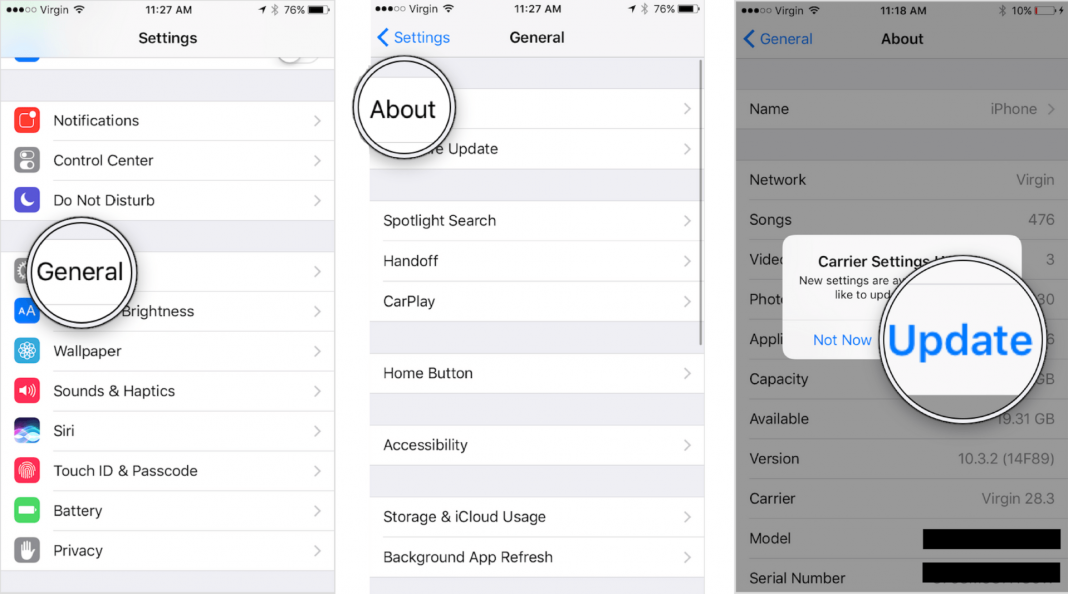what is carrier settings update on an iphone heres the
