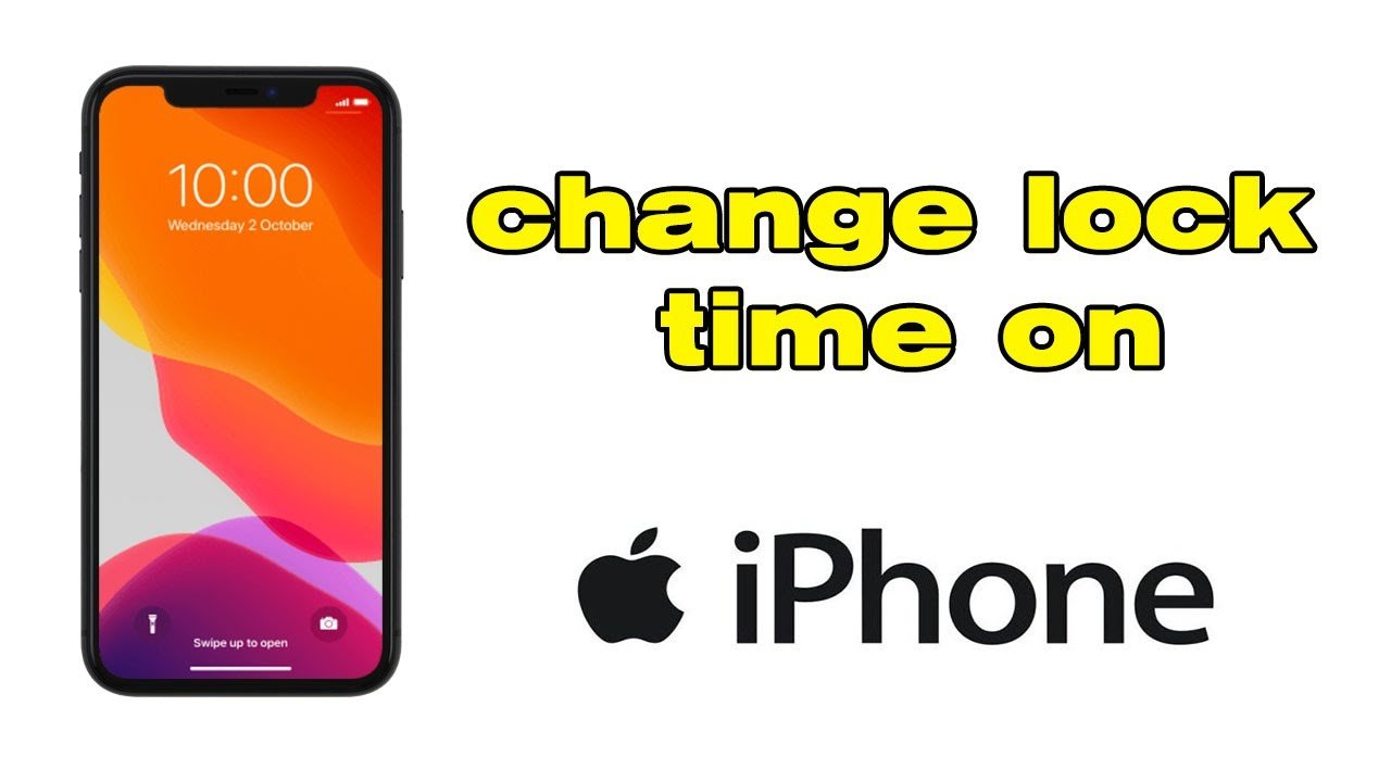 How to change auto lock on iPhone, change lock time on ...
