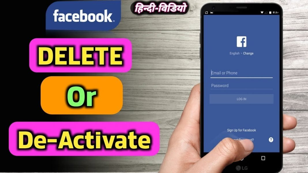 how to delete facebook account permanently on mobile