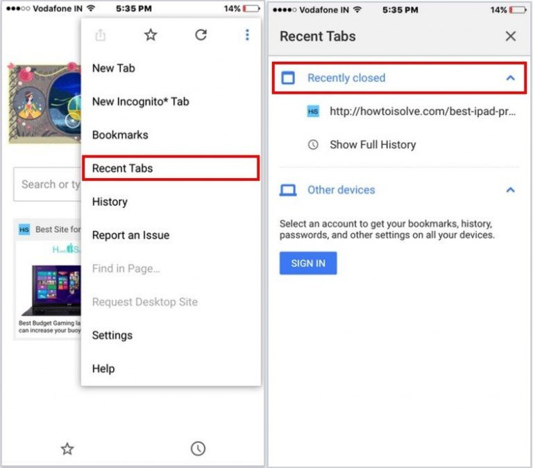 How to Reopen Recently Closed Tab on Safari iPhone, iPad ...