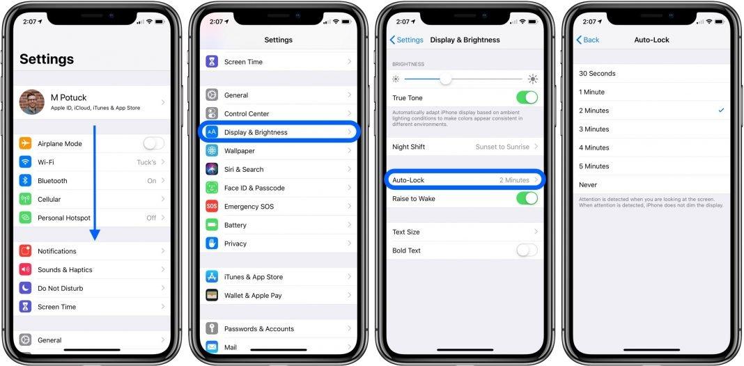 iphone ipad how to change screen lock time 9to5mac