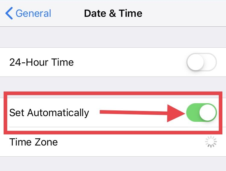 will iphone automatically change for daylight saving time